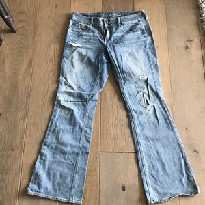 American Eagle Stetch Bootcut Jeans